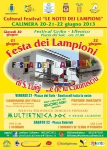 locandina Festa dei Lampioni 2013