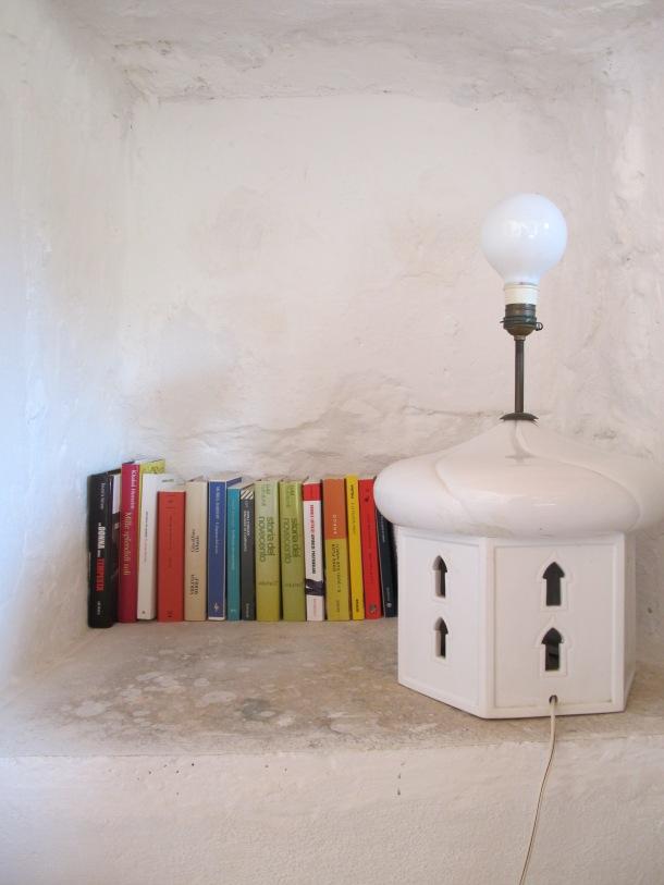 la casetta, mini libreria