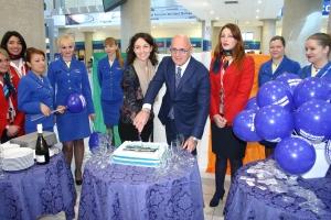 Ryanair, un momento della cerimonia