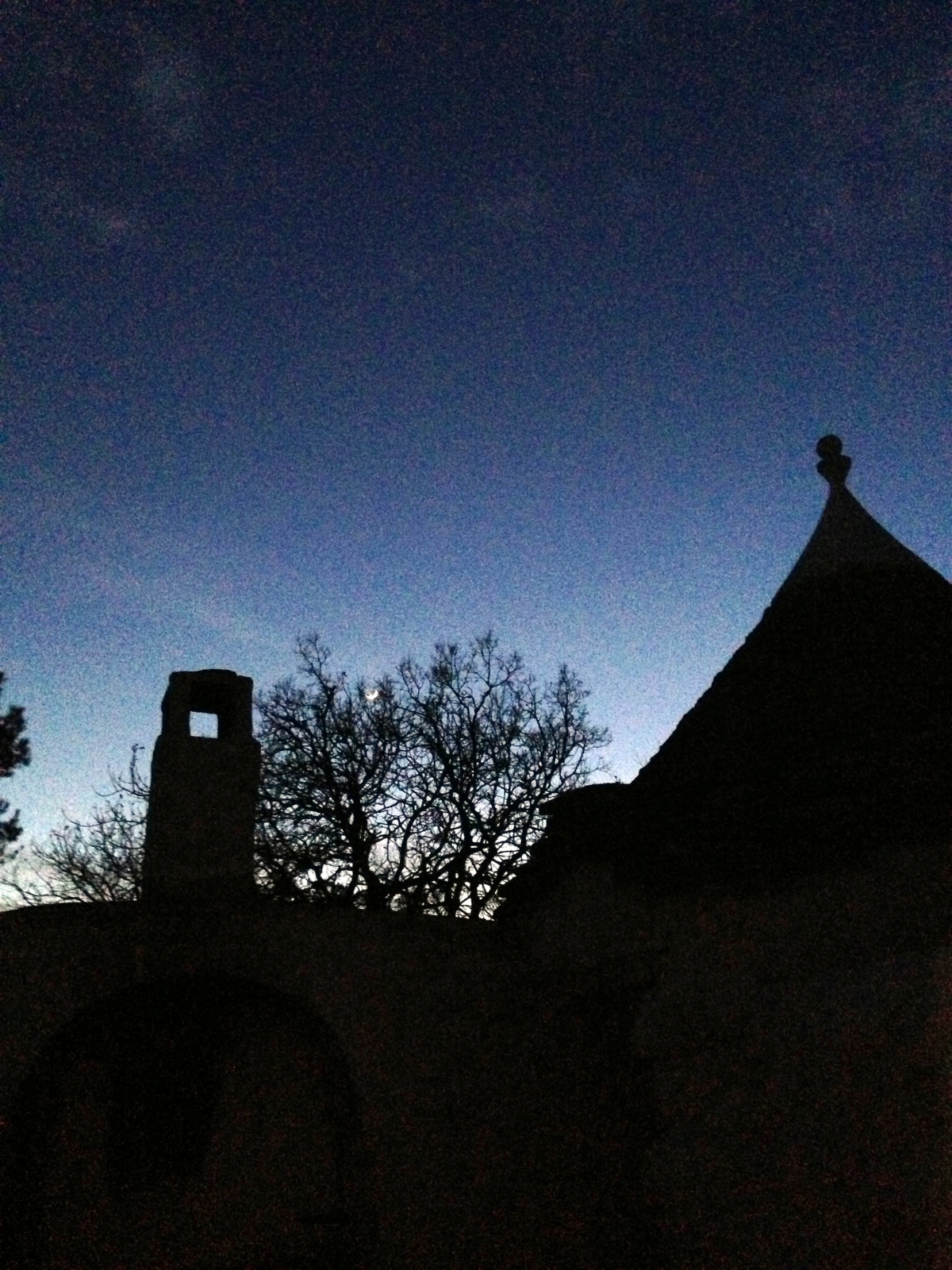 Trulli, sunset